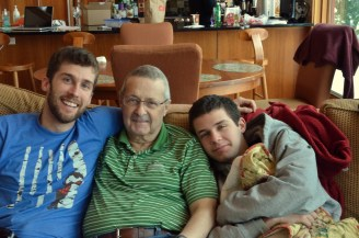 Family rallied around my ill father