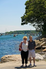 Went back to Maine in July, where my father had made a near miraculous recovery!