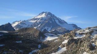 Goodbye Glacier Peak - see you again.