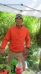Yassine! Animal Athletics had the best aid station by far...
