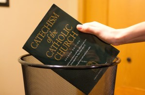 struggling with Catholic Church teaching disagreement
