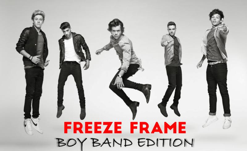 Freeze Frame Boy Band Edition - STUMINGAMES
