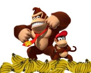 Donkey Kong Diddy Kong Bananas
