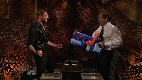 Jimmy Fallon Water War