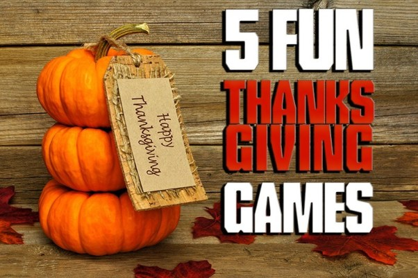 5 Fun Thanksgiving Games