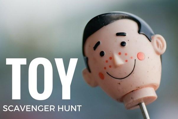 Toy Scavenger Hunt