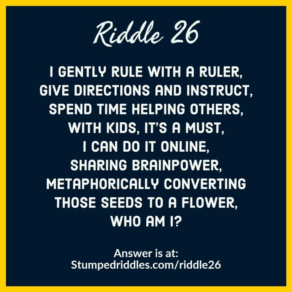 Riddle 26 on StumpedRiddles.com - A riddle about the givers