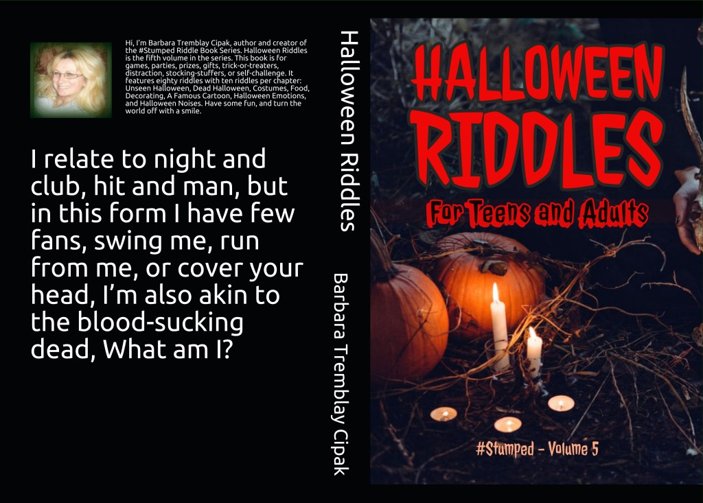 Halloween Riddle book