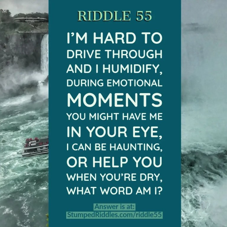 Riddle 55 on StumpedRiddles.com - A Maiden Riddle Voyage