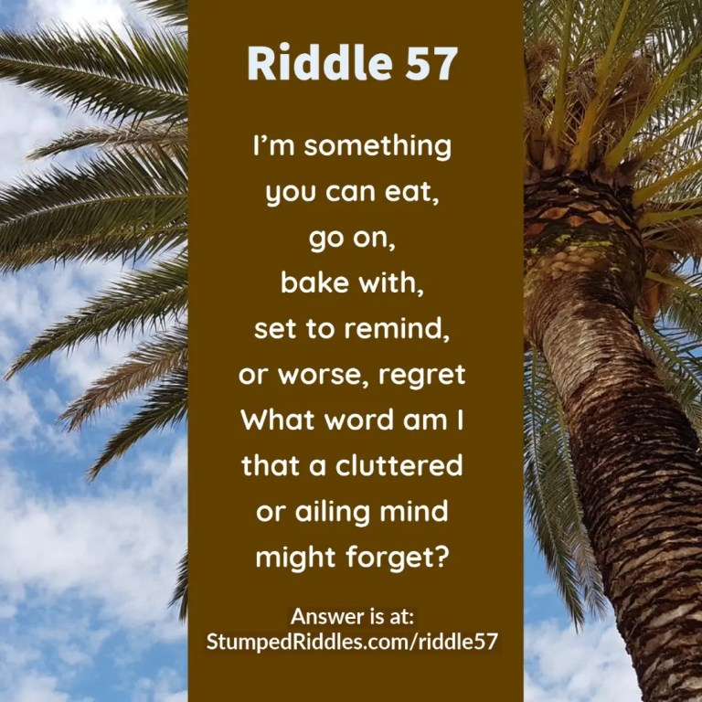 Riddle 57 - A riddle you can love or hate