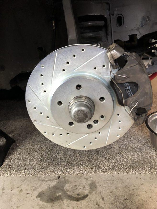 CLK430 Front Brakes on CLK55