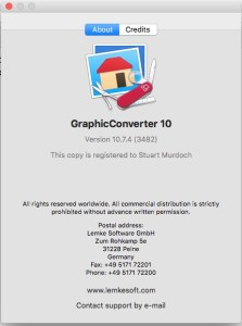 Graphic Convertor Splash Screen
