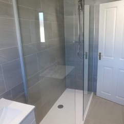 Yet leaving plenty of space for a walk in shower with Rainfall shower, for a spacious yet brisk shower