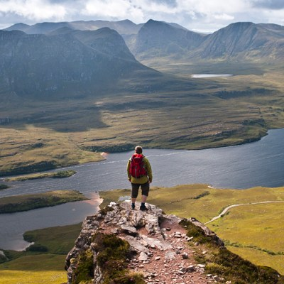 Stac Pollaidh – fantastic viewpoint in Assynt Scotland