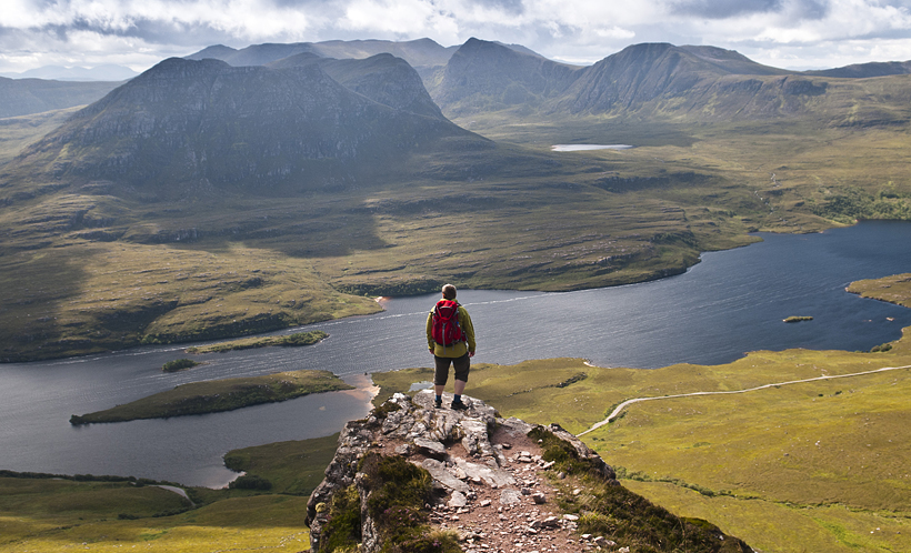 Stac Pollaidh – fantastic viewpoint in Assynt Scotland
