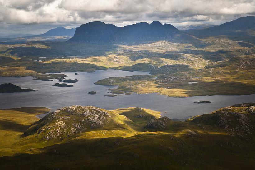 Assynt Scotland Stac Pollaidh