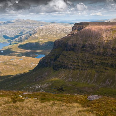 Quinag – remote ridge walk in Assynt