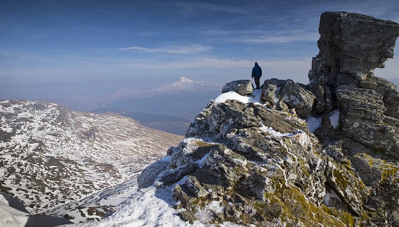 The Cobbler, summit