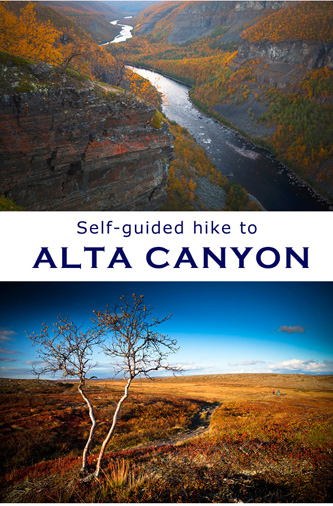 alta canyon self guided hike