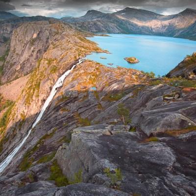 2 day circular hike in Rago National Park, Norway