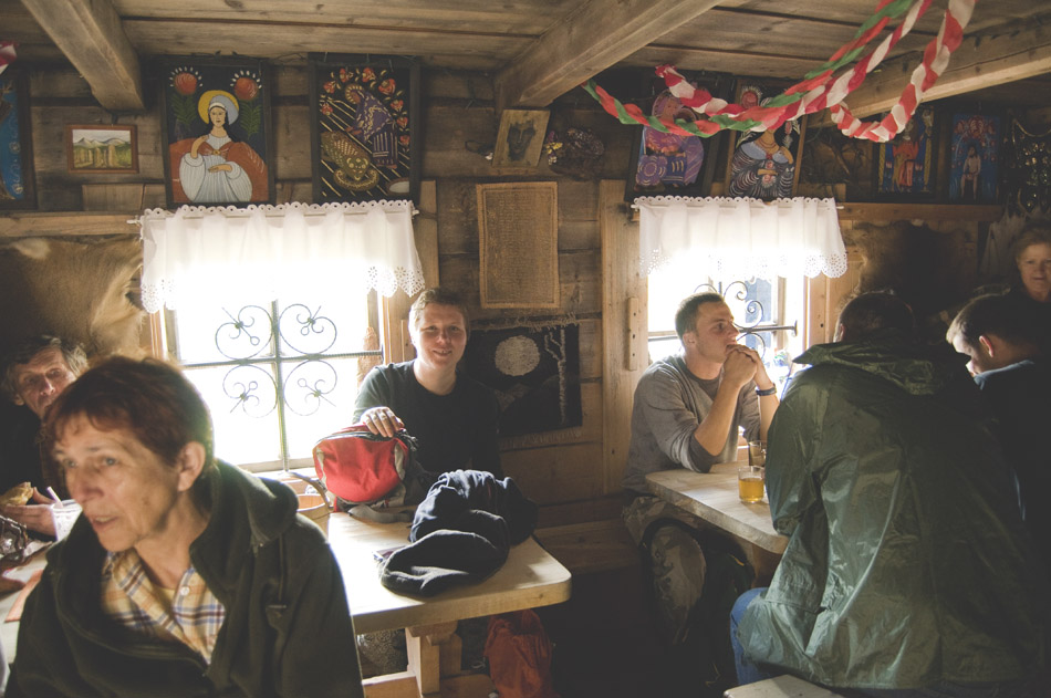 experience of mountain huts in tatra