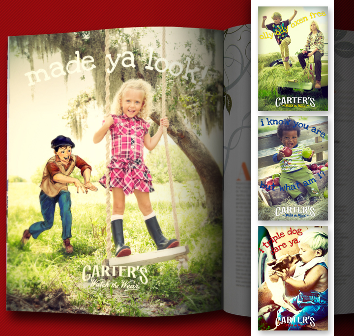 Carter's Magazine Ads