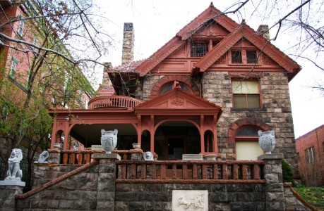 The Molly Brown House in historic Denver CO. Courtesy of historicdenver.org