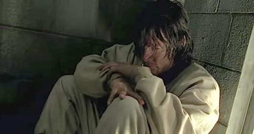 "Daryl during the episode entitled ""The Cell."" All rights to Gene Page/AMC."