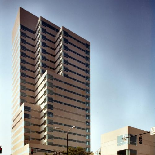 Kincaid Towers in Lexington KY. Designed and picture saved from kpf.com