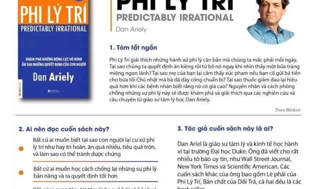 Review sách Phi Lý Trí – Dan Ariely