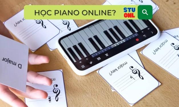 8 ý tưởng phát triển mở rộng dạy piano online