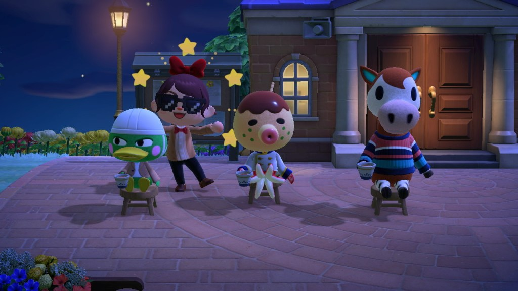 Animal Crossing meets Doctor Who.