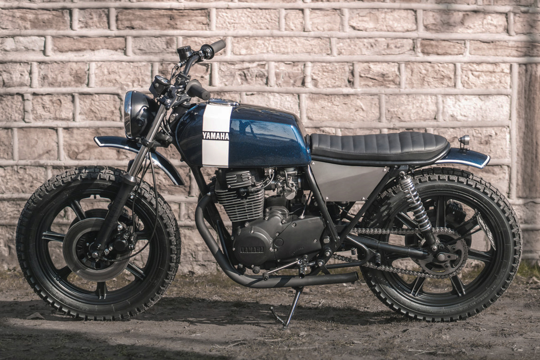 Old Becomes New The 1977 Yamaha Xs360 Falkor Scrambler