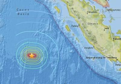 Tremblement de terre majeur en Indonésie en images