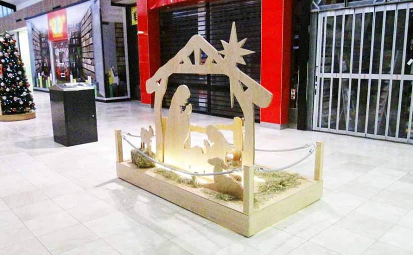 Shopping Mall Nativity Set