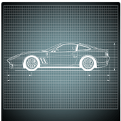 Engineering Cars Icon