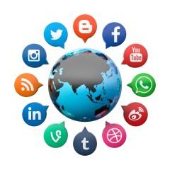 Team Member Involved in Social Media