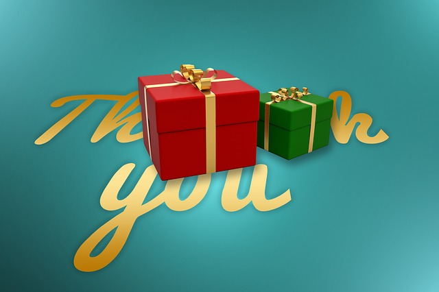 Showing Gratefulness