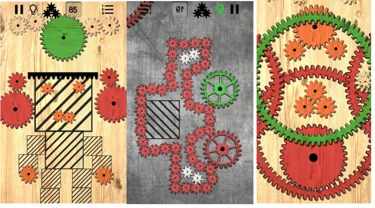 Gear Puzzle logic games for engineer