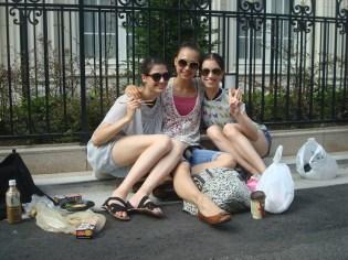 Lunch break (Anouk, Rocio, Chantal Julie)