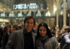 Sue Jin Kang and Filip Barankiewicz out and about in London