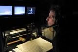 Our stage manager Ekkehard Kleine at work