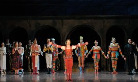 Alexander Zaitsev takes a bow on the stage on which his career began