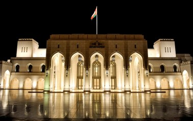 It's evening in Muscat and our performance is about to start ….