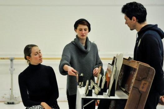 Elena Bushsyeva, Katharina Schlipf und Damiano Pettenella