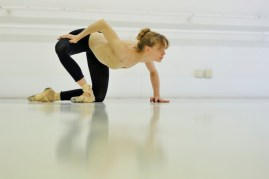 Alicia Amatriain in the rehearsal