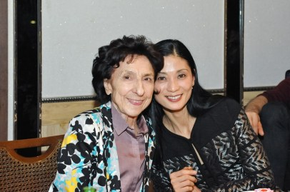Georgette Tsinguirides and Sue Jin Kang