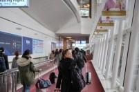 Arrival at Haneda Airport in Tokyo!