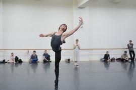 Friedemann Vogel und Alicia Amatriain rehearse Romeo and Juliet.
