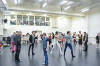 Romeo rehearsal with all our Ballet Masters: Thierry Michel, Reid Anderson, Tamas Detrich, Krzysztof Nowogrodzki and Rolando D'Alesio with the dancers